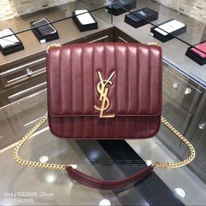 YSL Yves Saint Laurent Vicky Bag EUC